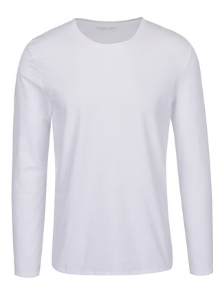 Bluza alba Selected Homme Basic