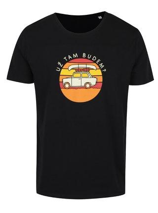Černé pánské tričko ZOOT Originál Už tam budem