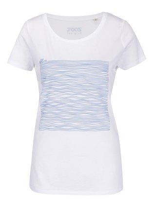Bílé dámské tričko ZOOT Originál Offline lines