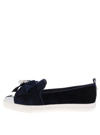 Pantofi loafer bleumarin cu aplicatii decorative - Miss KG Lottie