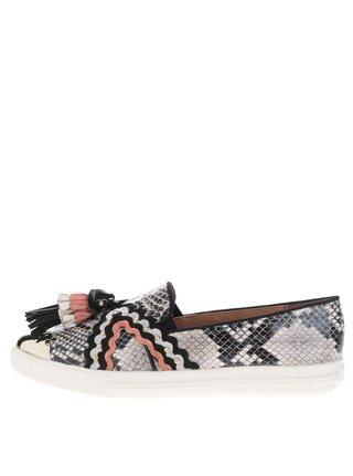 Pantofi slip-on cu ciucuri colorati Miss KG Lucinda