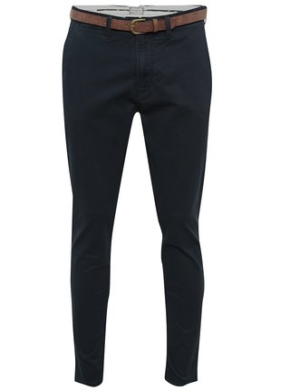 Pantaloni bleumarin chino Jack & Jones Cody