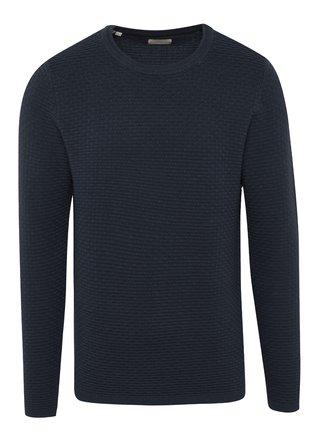 Tmavomodrý sveter Selected Homme New Dean