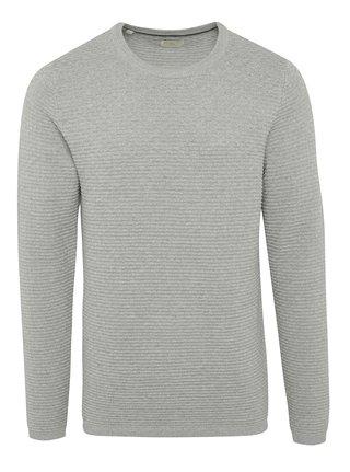 Svetlosivý sveter Selected Homme New Dean