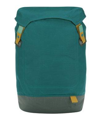 Sivo-petrolejový batoh na notebook Case Logic Larimer 22 l