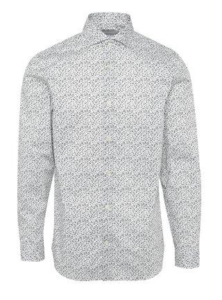 Čierno-biela vzorovaná košeľa Selected Homme Two Sel