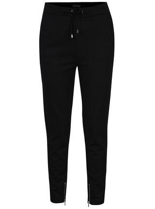 Černé volné kalhoty s kapsami VILA Riasta