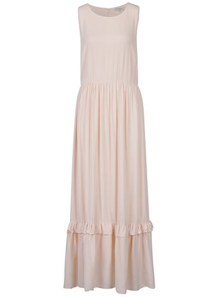 Rochie maxi roz pal fara maneci Selected Femme Nora