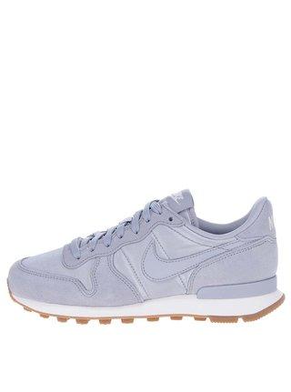Pantofi sport gri pentru femei Nike Internationalist