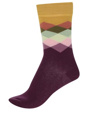 Sosete u model Happy Socks Faded Diamond