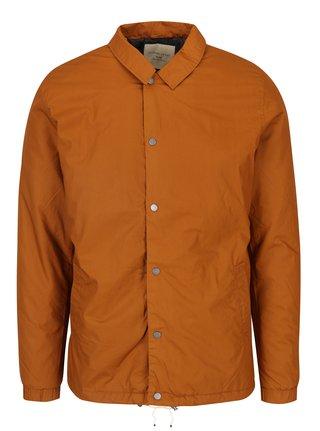Oranžová bunda Selected Homme Coach
