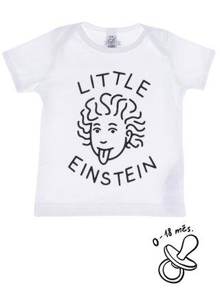 Bílé kojenecké tričko ZOOT Kids Little Einstein