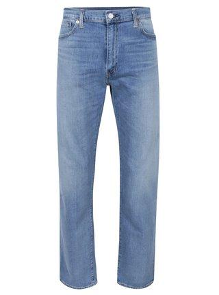 Světle modré pánské džíny s vyšisovaným efektem Levi's® 504