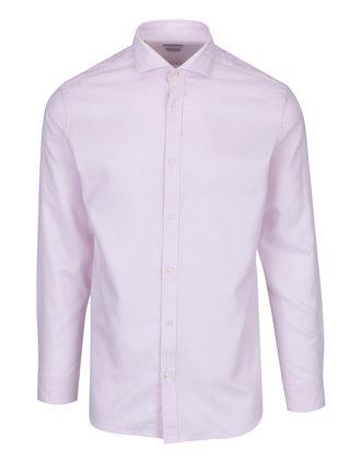 Světle růžová formální košile Selected Homme One Sel-Mas