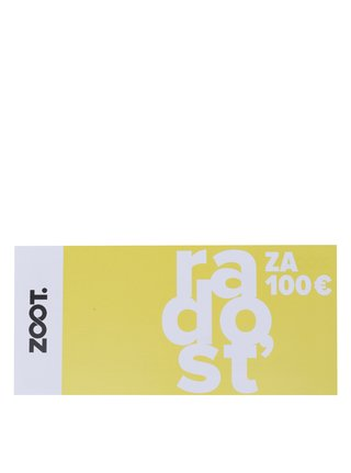 Darčekový poukaz v hodnote 100 EUR