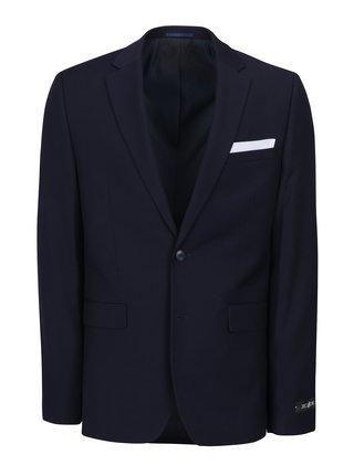 Sacou bleumarin slim pentru costum - Burton Menswear London