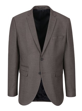 Sacou maro cu revere -  Selected Homme Done Buffalo