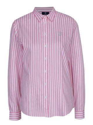 Camasa de dama cu dungi roz & alb - Jimmy Sanders