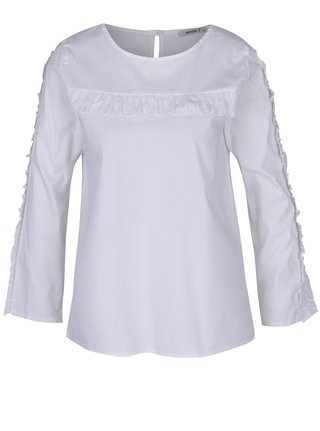 Biela blúzka s dlhým rukávom Haily´s Sarina
