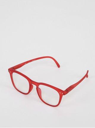 Červené detské ochranné okuliare k PC IZIPIZI  #E