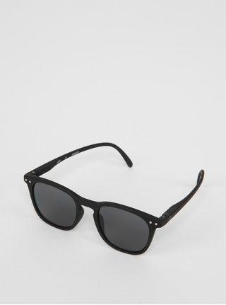 Černé dětské sluneční brýle s tmavými skly IZIPIZI  #E