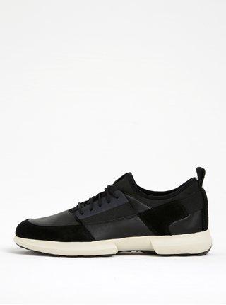 Pantofi sport negru&crem Geox Traccia A