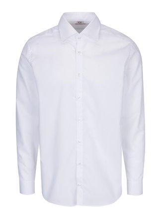 Biela pánska formálna košeľa VAVI