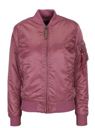 Růžový dámský bomber ALPHA INDUSTRIES