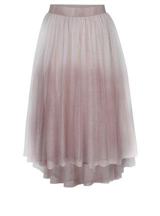 Starorůžová tylová sukně DEHA