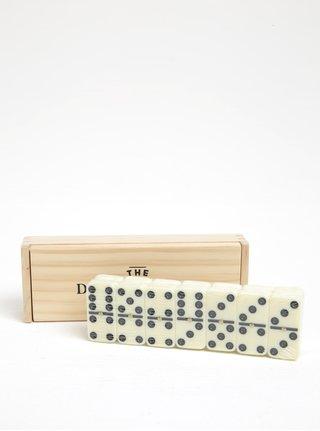 Domino v drevenej krabičke CGB