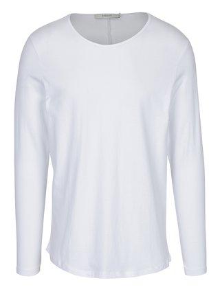 Bílé basic tričko s dlouhým rukávem Jack & Jones Perth