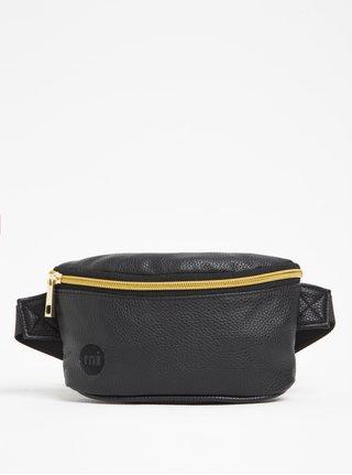 Borseta neagra cu fermoar auriu pentru femei - Mi-Pac Bum Bag Tumbled