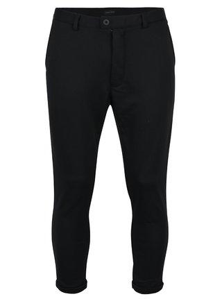 Čierne skrátené nohavice s vreckami Casual Friday by Blend