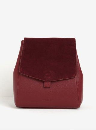 Vínový batoh se semišovou klopou Paul's Boutique Erin
