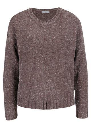 Ružový trblietavý sveter Jacqueline de Yong Shine