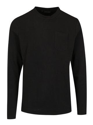 Bluza basic neagra cu buzunar  Casual Friday by Blend