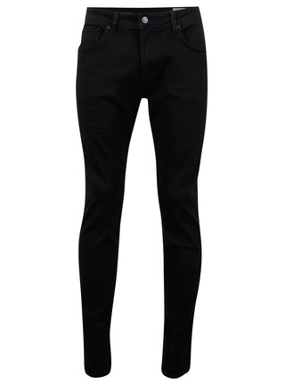 Blugi slim fit negri si flexibili - Selected Homme Slim-leon