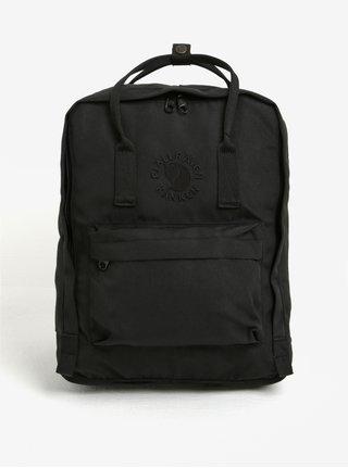 Černý batoh Fjällräven Re-Kånken 16 l