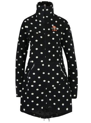 Jacheta lunga negru & crem cu buline Blutsgeschwister