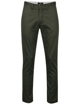 Pantaloni chino verde inchis pentru barbati VANS Authentic