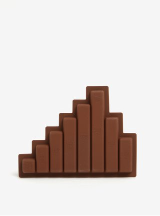 Hnedá silikónová forma na čokoládu Donkey Chocolate diet