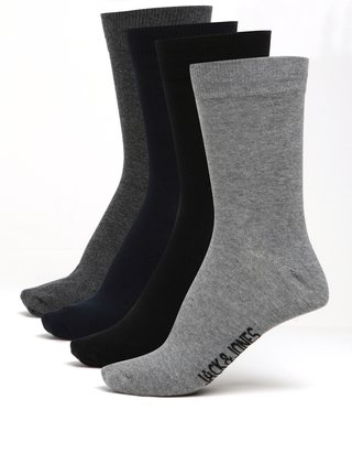 Súprava štyroch párov ponožiek Jack & Jones Jens