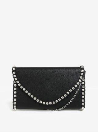 Čierna kabelka s kamienkami MISSGUIDED