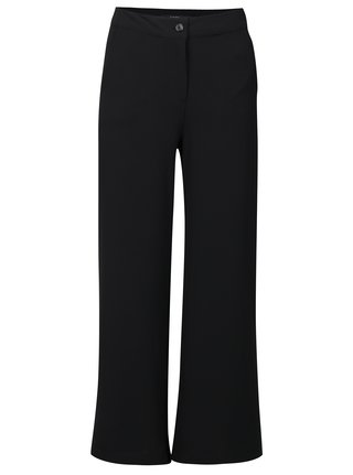 Černé holčičí volné kalhoty s vysokým pasem LIMITED by name it Inger