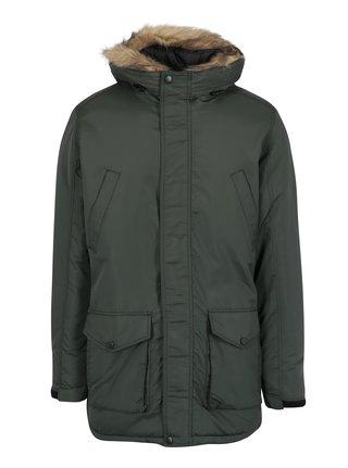 Tmavozelená zimná bunda Shine Original
