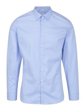 Camasa bleu slim fit pentru barbati - LABFRESH