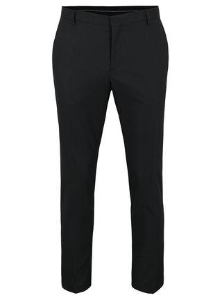 Čierne oblekové nohavice Selected Homme Done Tux