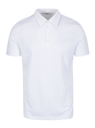 Tricou polo alb pentru barbati  Zagh
