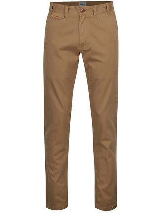 Béžové chino regular fit kalhoty Barbour Neuston Twill
