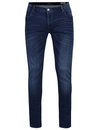 Tmavě modré skinny fit džíny Blend